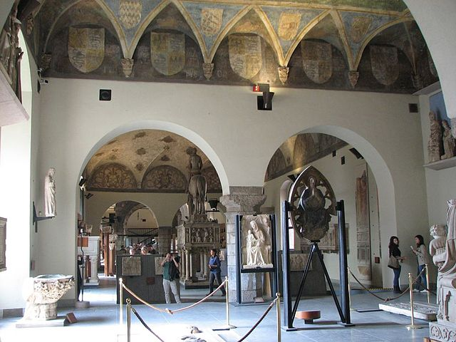 Scorcio_sala_3_del_Museo_del_Castello_Sforzesco_Milano