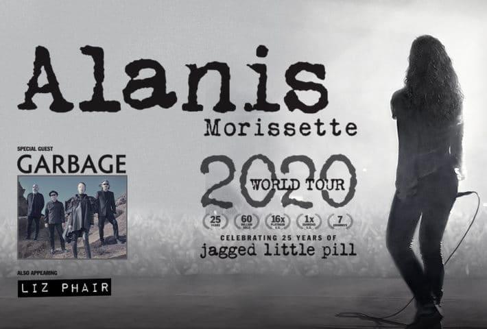 Alanis Morissette World Tour (info concerto)