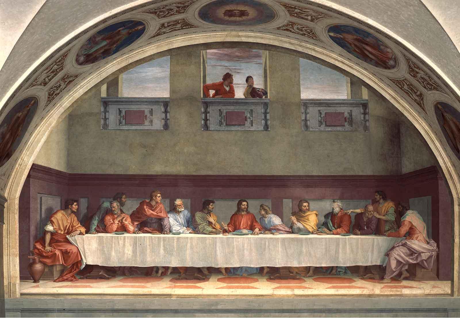 Museo-Cenacolo-Vinciano-Dentro-Il-Cenacolo-Milano-Copie-e-derivazioni-della-Cena-Andrea-del-Sarto-San-Salvi