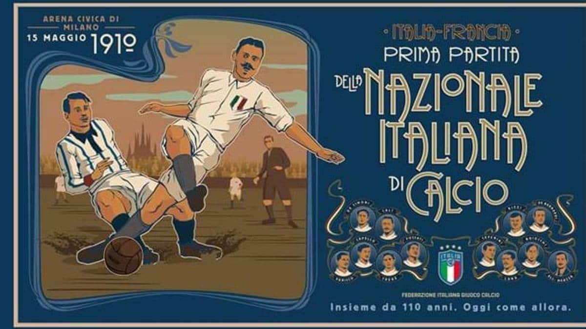 La prima nazionale Italia