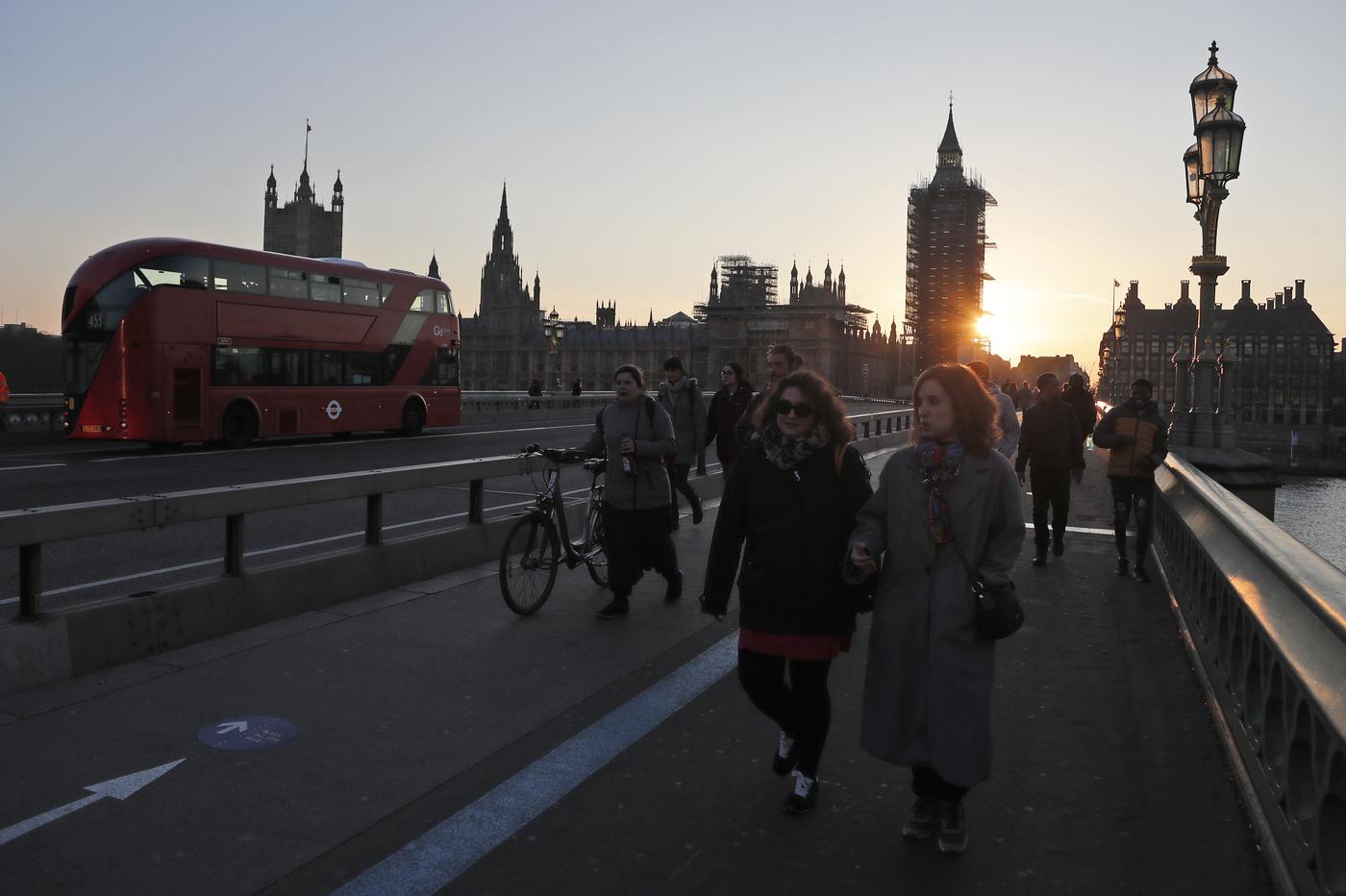 Londra zero contagi