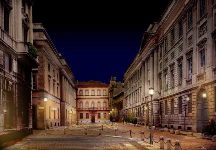 la casa di Alessandro Manzoni a Milano