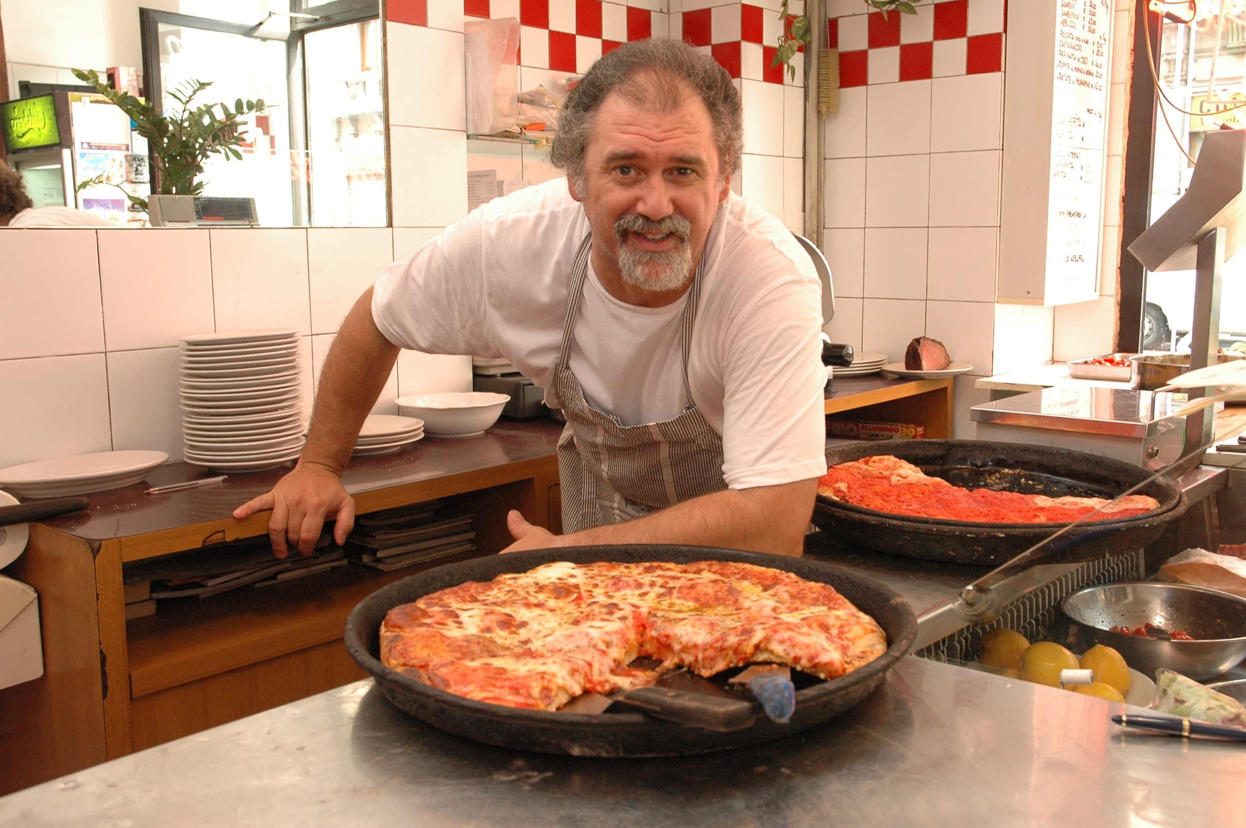 Le migliori pizze al trancio Milano