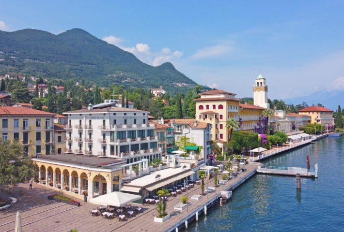 Gardone Riviera è l'unica Bandiera Blu della Regione Lombardia