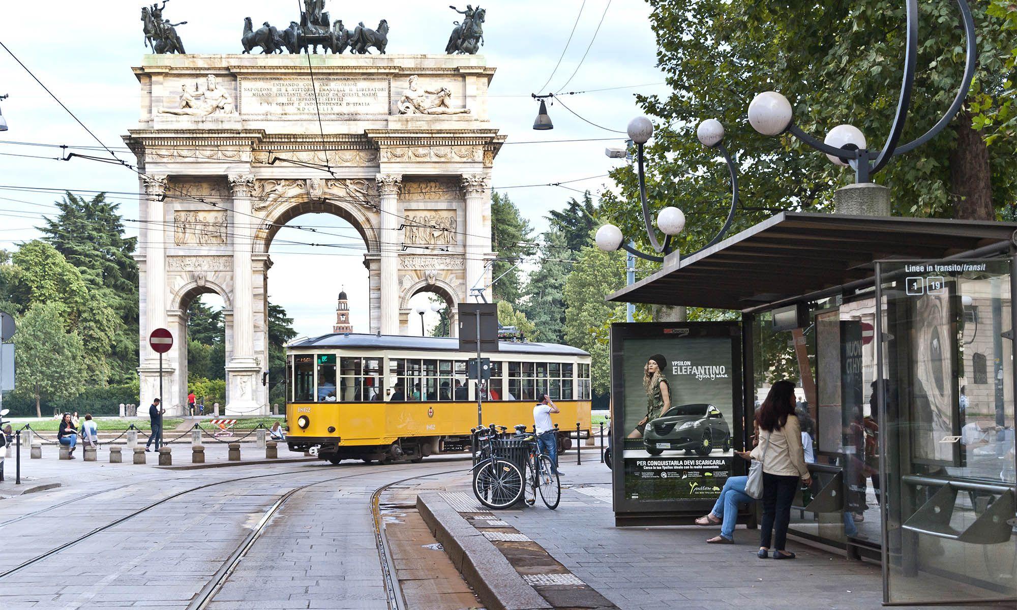 Pensiline Milano