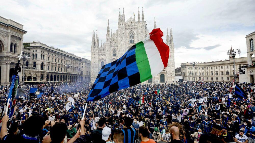Festa in piazza Duomo