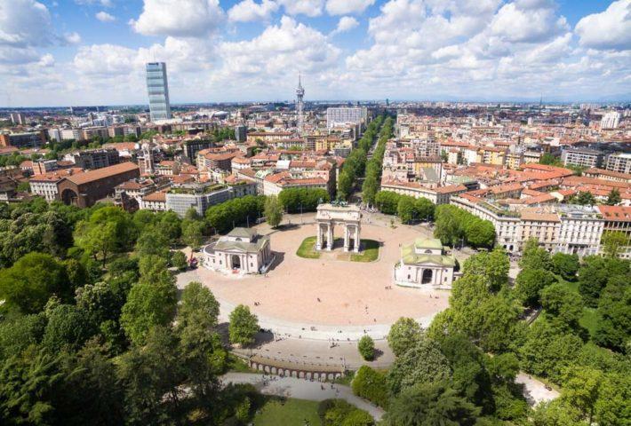 I 10 capolavori all'aria aperta da scoprire a  Milano